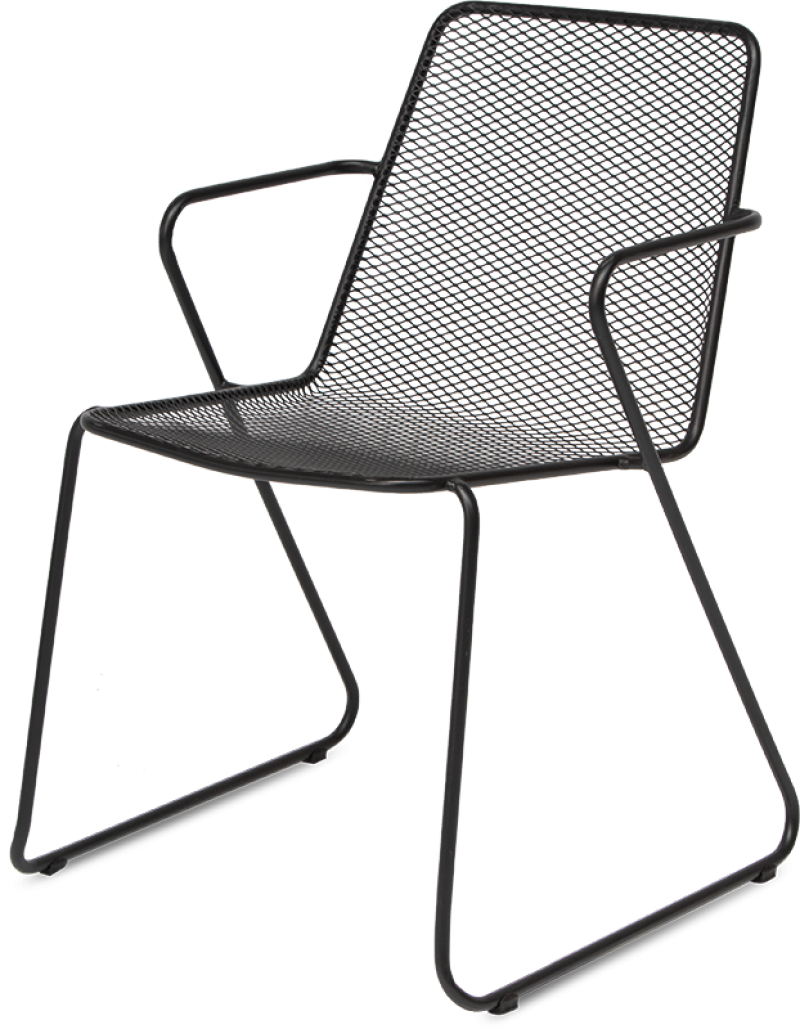 Bistro  Chair With Arm-rest
